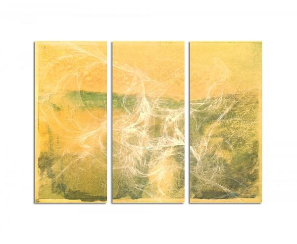 130x90cm Wandbild Abstrakt161 -3x90x40cm