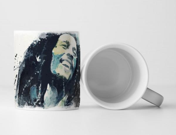Bob Marley I Tasse als Geschenk, Design Sinus Art