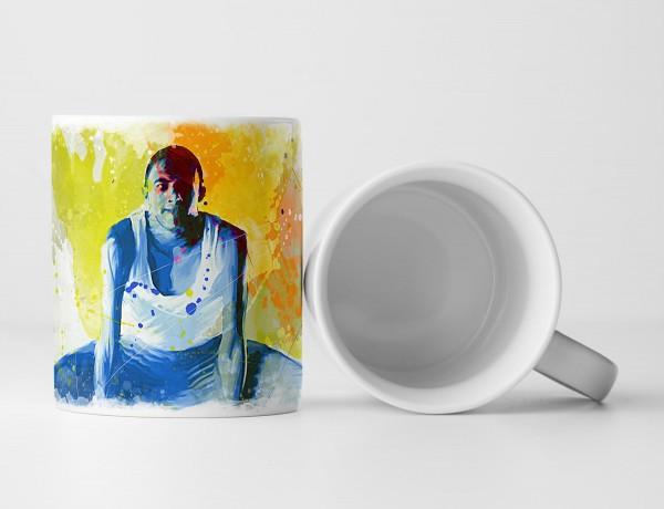 Turnen VI Tasse als Geschenk, Design Sinus Art