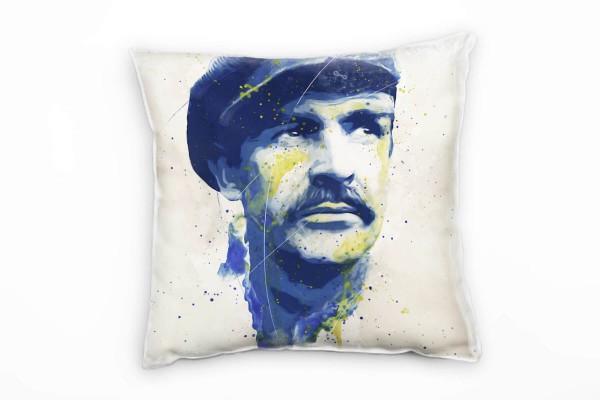 Sean Connery I Deko Kissen Bezug 40x40cm für Couch Sofa Lounge Zierkissen