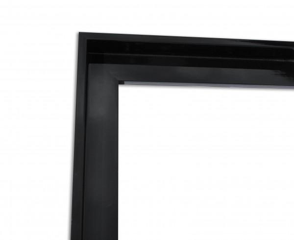 Schattenfuge XXL Lack Schwarz schmale Sichtkante