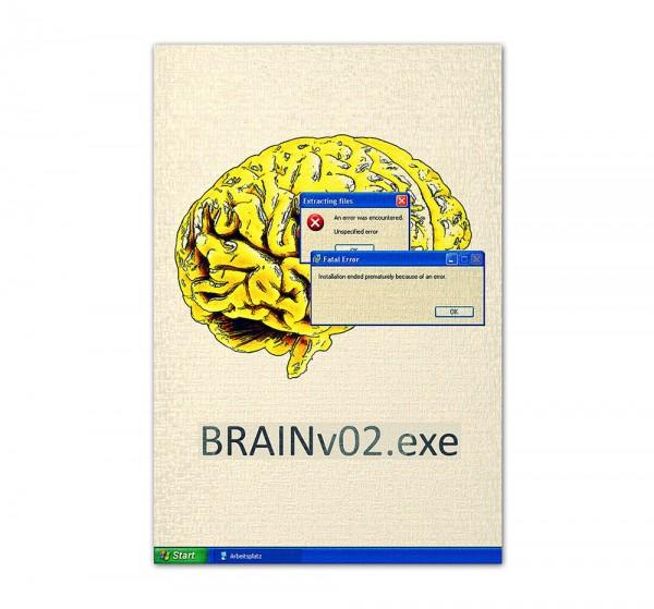 Brain Error, Art-Poster, 61x91cm