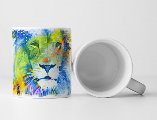 Loewe Tasse als Geschenk, Design Sinus Art