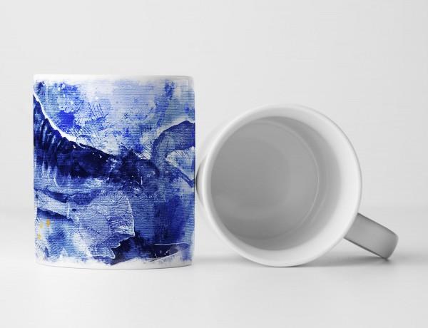 Scorpion Tasse als Geschenk, Design Sinus Art