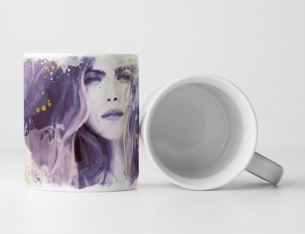 Cara Delevingne I Tasse als Geschenk, Design Sinus Art