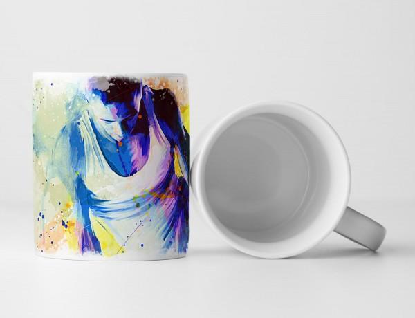 Turnen VII Tasse als Geschenk, Design Sinus Art