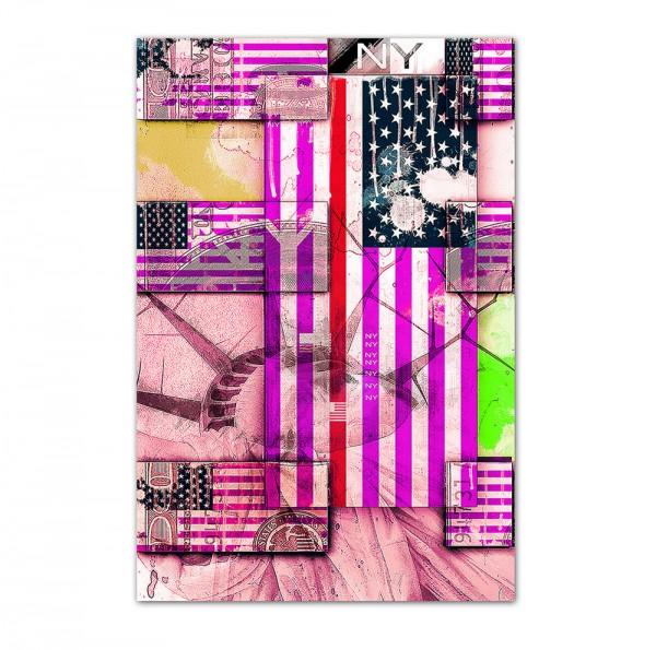 USA 2,  Art-Poster, 61x91cm