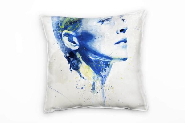 Sharon Stone Deko Kissen Bezug 40x40cm für Couch Sofa Lounge Zierkissen