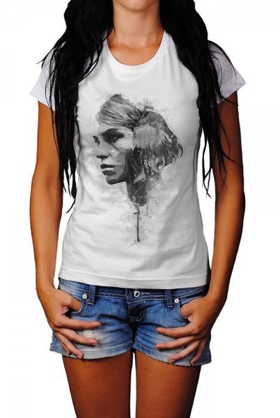 Arizona Muse I Herren und Damen T-Shirt BLACK-WHITE