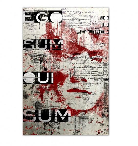 Ego sum qui, Art-Poster, 61x91cm