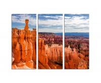 130x90cm Bryce Canyon Nationalpark außergewöhnliche Steinformation orange