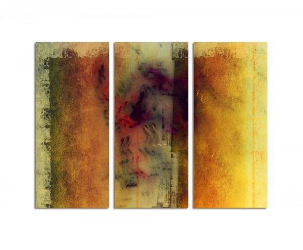 130x90cm Wandbild Abstrakt184 -3x90x40cm