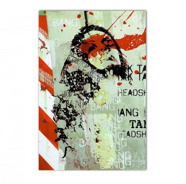 Tak tak bang, Art-Poster, 61x91cm