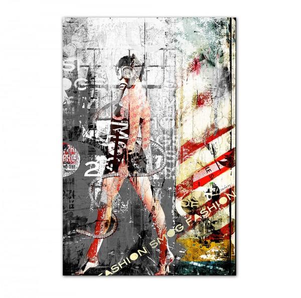 Smog fashion, Art-Poster, 61x91cm