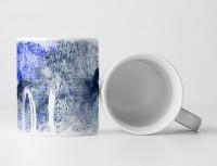 Wolf Tasse als Geschenk,  Design Sinus Art
