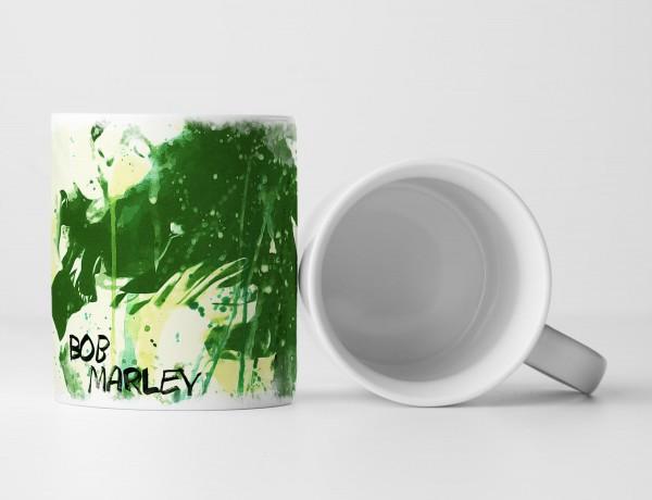 Bob Marley II Tasse als Geschenk, Design Sinus Art