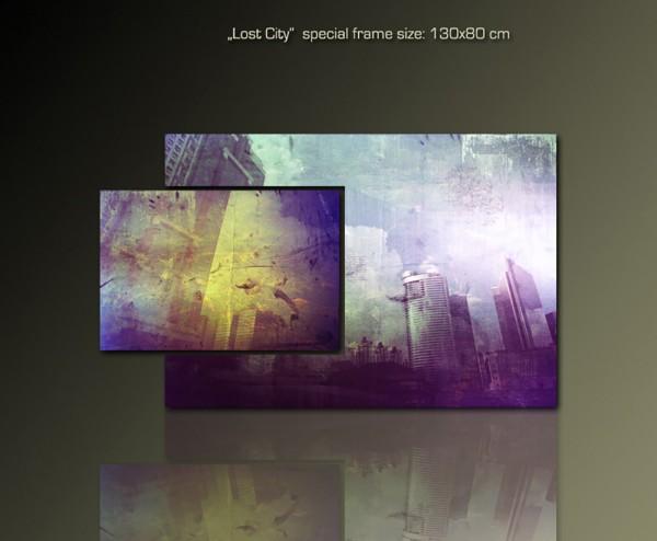 LOst City 130x80cm