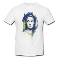 agmuh Premium Motiv aus Paul Sinus Aquarell - Herren und Damen Shirt weiss