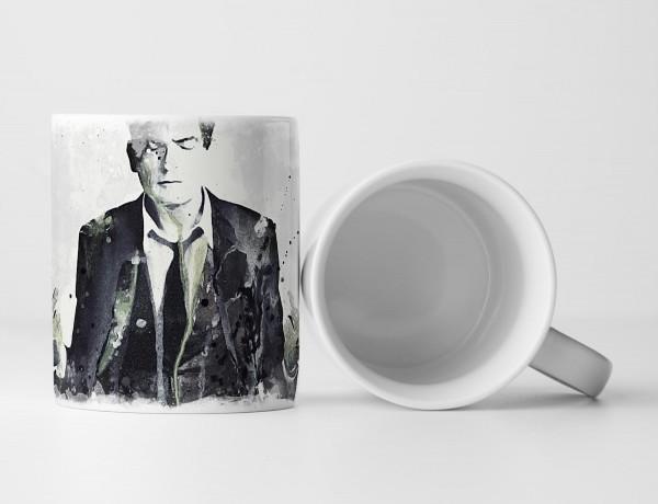 Charlie Sheen Tasse als Geschenk, Design Sinus Art