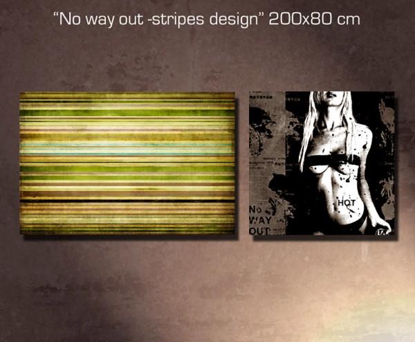 No way out - Stripes Design