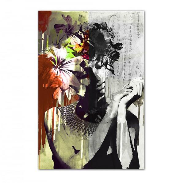 Flower Girl, Art-Poster, 61x91cm