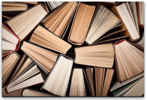 Bücher Wandbild in verschiedenen Größen