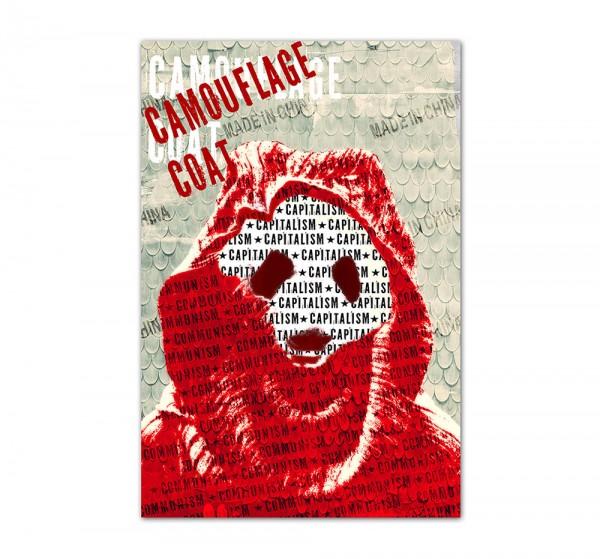 Camouflage Coat, Art-Poster, 61x91cm