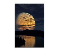 Full Moon Shining Fantasy Art 90x60cm