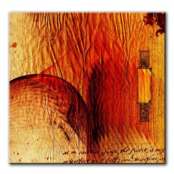 Flacon der Betörung, abstrakt, 60x60cm