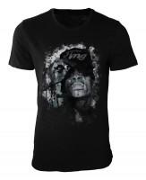 Wiz Khalifa Damen und Herren T-Shirt schwarz / black