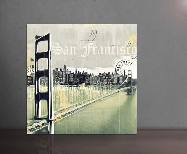 SAN FRANCISCO I 100x100cm