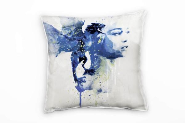 Game of Thrones Khaleesi I Deko Kissen Bezug 40x40cm für Couch Sofa Lounge Zierkissen