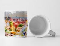 Tasse Geschenk Park Guell – Gemälde