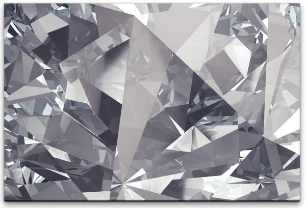 Kristall Hintergrund Wandbild in verschiedenen Größen