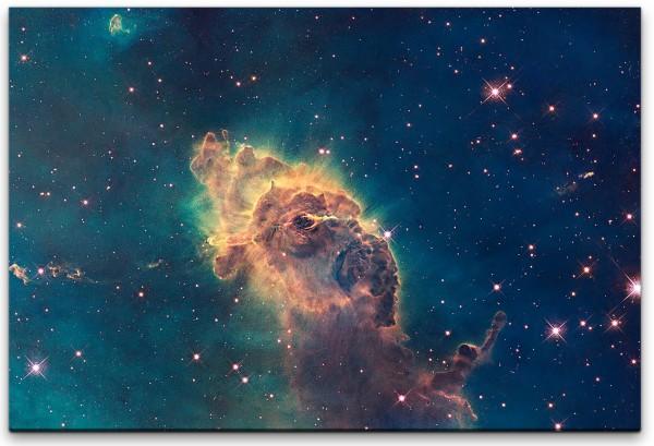 Astronomischer Nebel Wandbild in verschiedenen Größen