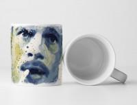 Brad Pitt Fight Club I Tasse als Geschenk,  Design Sinus Art