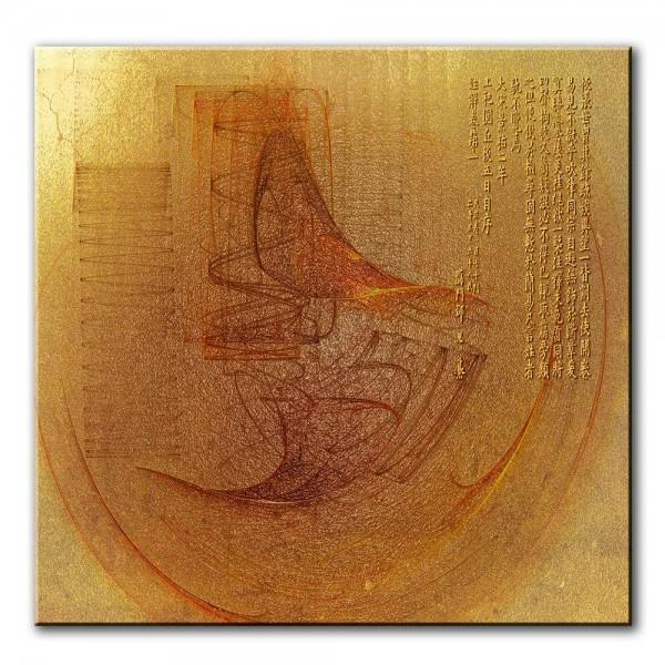 Einklang, abstrakt, 60x60cm