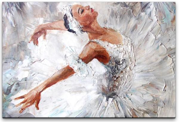 süße Ballerina Wandbild in verschiedenen Größen