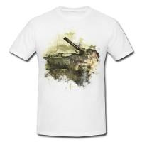 World of Tank Premium Herren und Damen T-Shirt Motiv aus Paul Sinus Aquarell