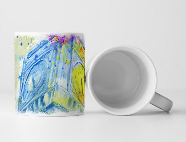 Big Ben Tasse als Geschenk, Design Sinus Art