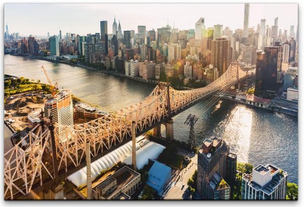 New York City Brücke Wandbild in verschiedenen Größen