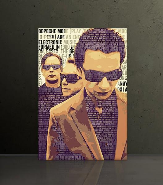 Depeche Mode 9, 60x90 cm