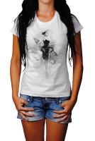 Ballett II Herren und Damen T-Shirt BLACK-WHITE