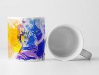 Bobsport II Tasse als Geschenk,  Design Sinus Art