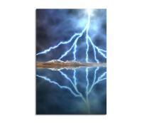 Lightning Sea Fantasy Art 90x60cm
