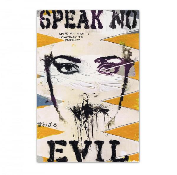 Speak no, Art-Poster, 61x91cm