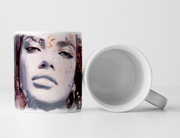 Adriana Lima II Tasse als Geschenk, Design Sinus Art