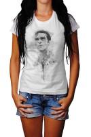 Antonio Banderas Herren und Damen T-Shirt BLACK-WHITE