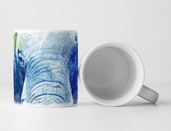 Big Elephant Tasse als Geschenk, Design Sinus Art