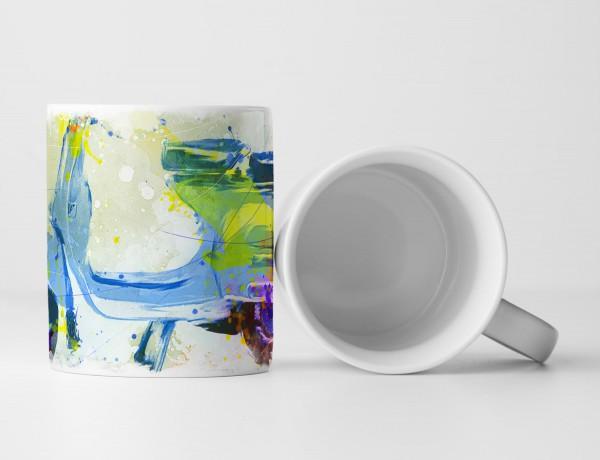 Vespa Tasse als Geschenk, Design Sinus Art
